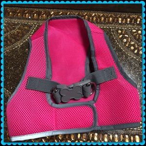 Other - NWOT pink and gray dog harness